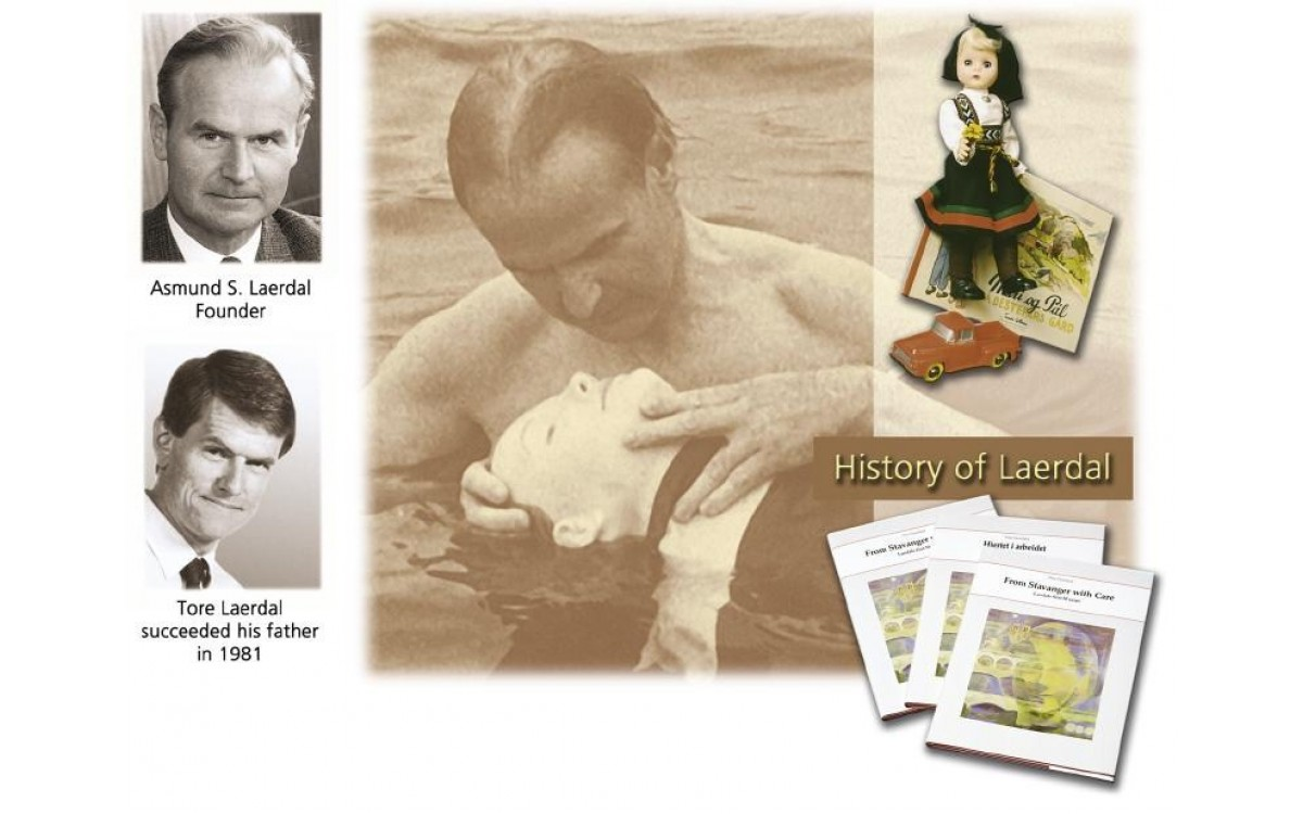 The History of CPR Manikin Laerdal Little Anne