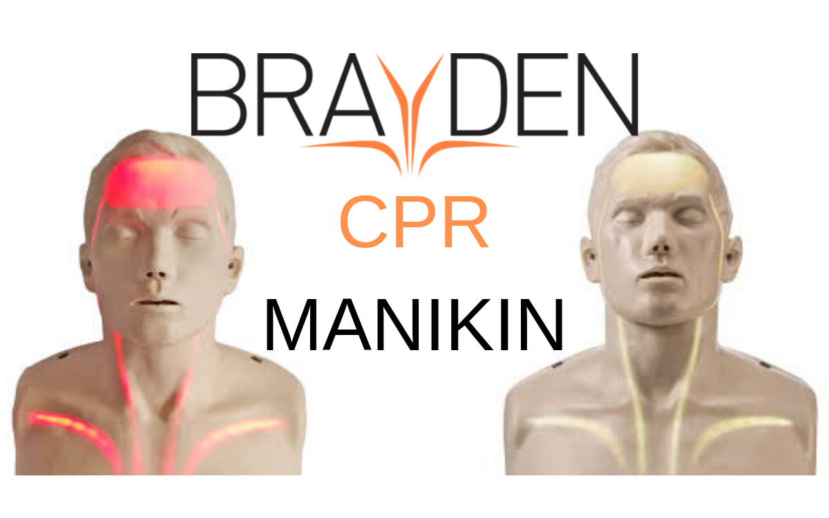 Brayden CPR Manikin - The One That Lights UP!!!