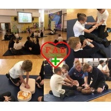 FAB First Aid for Children - First Aid Class