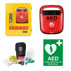Mediana A15 Defibrillator Package with Outdoor Heated Cabinet