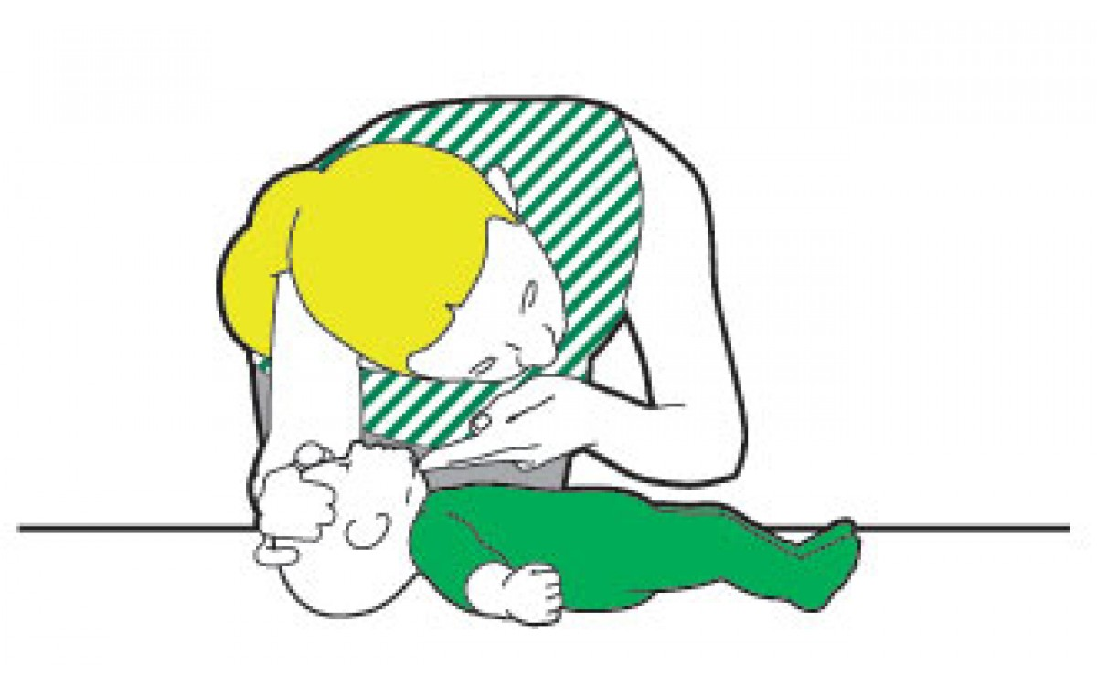What to look for - Unresponsive and not breathing child/baby